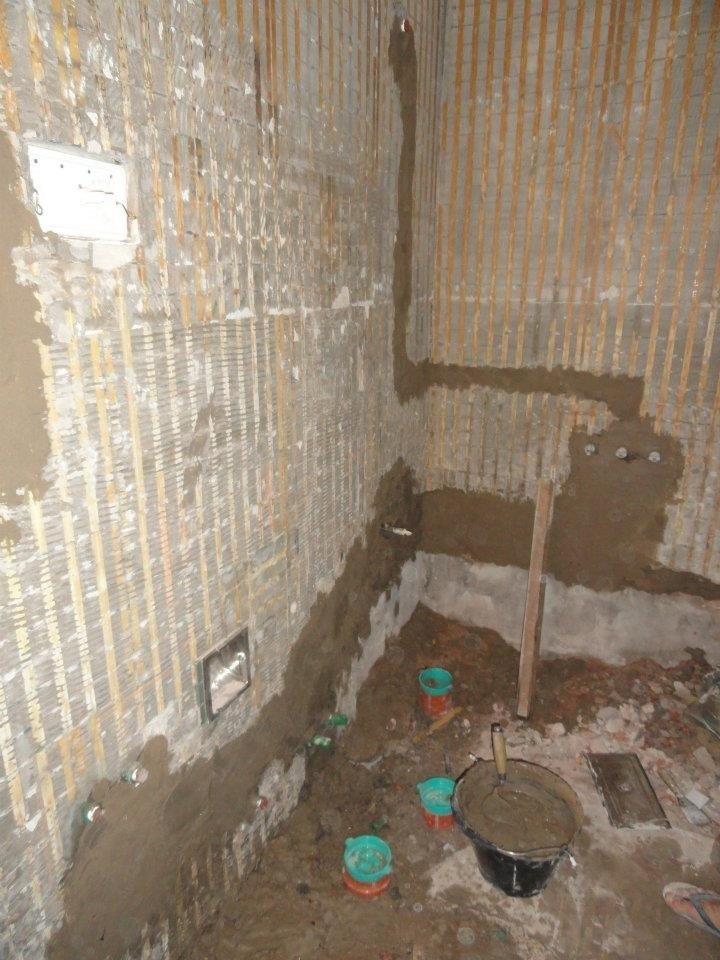 Reformar Baño Pequeno:Reformar un pequeño baño con bañera en un precioso aseo con ducha