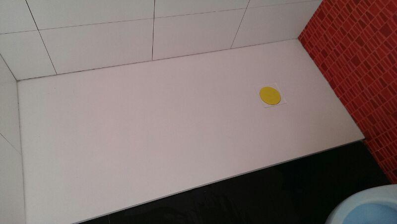 Reforma Baño Mover Inodoro:Reforma total de un baño en el barrio Bidebieta-La Paz de Donostia