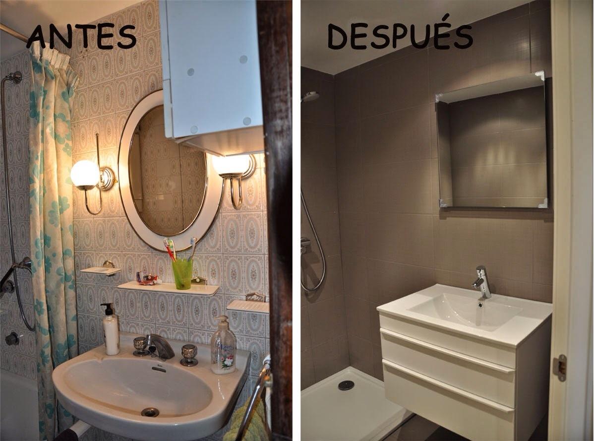 Decorar Baño Sin Obra:Antes y después de la reforma de baños y cocinas