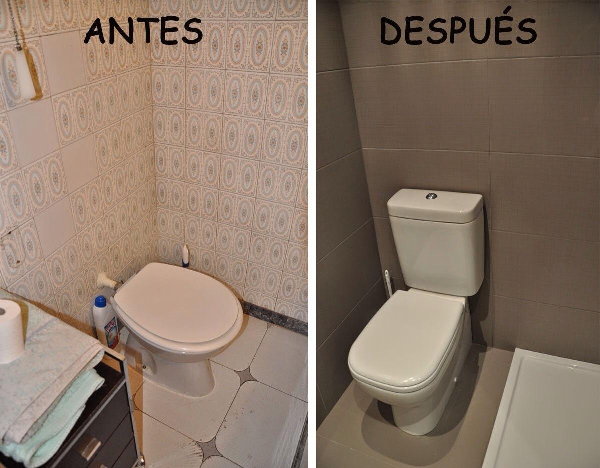 Quitar Azulejos Baño Sin Romperlos:Algunos ejemplos de baños y cocinas antes y después de reformarlos