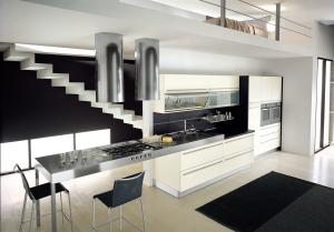 cocinas modernas italianas - Espectaculares baños y cocinas.
