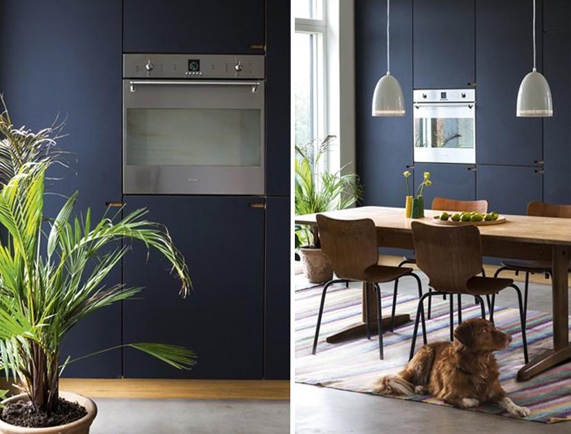 Magnífico Baldosas De Cocina Azul Oscuro Ideas - Ideas de Decoración ...