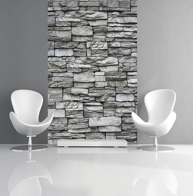 Papel pintado piedras naturales - Villalba Interiorismo (3)