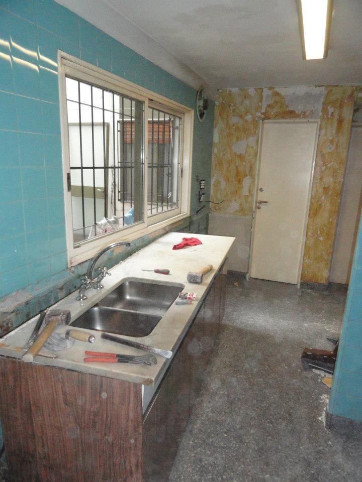 desmontando la cocina