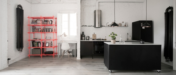 Un-apartamento-de-estilo-industrial-en-Barcelona-2