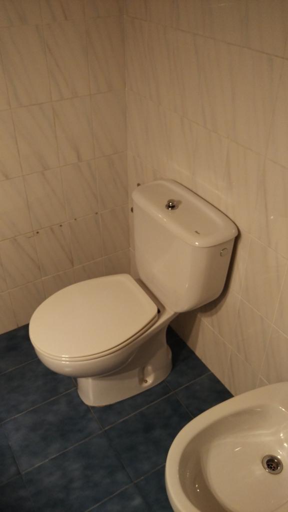 Reformas Baño Donostia: ducha y lavadora reformado en Egia Donostia