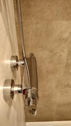 Grifería termostática ducha