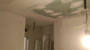 Cierre con pladur de techos